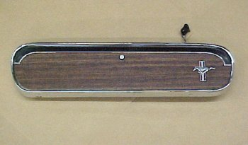 1965 - 1966 Mustang Glove Box Door for Pony Interior