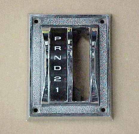 1965 - 1966 Mustang Auto Shifter Bezel and Dial