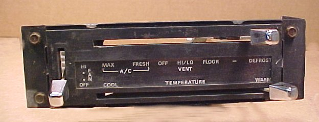 1971 - 1972 - 1973 Mustang AC - Heater Control